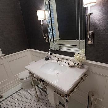 charcoal gray bathroom charcoal grey and white mosaic marble tile design ideas