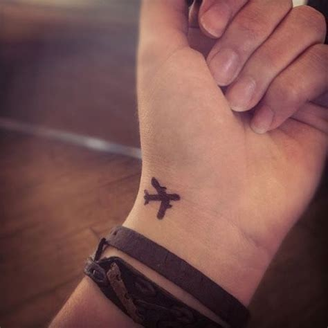 one love wrist tattoos 25 best ideas about airplane tattoos on