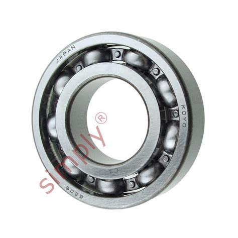 Bearing 83553 9 C3 Koyo koyo 6206c3 open groove bearing 30x62x16mm simply bearings ltd