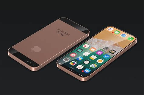 iphone se 2 iphone se plus concept imagines bezel free compact device with 4 7 inch display macrumors