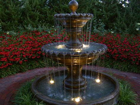 patio fountains custom garden fountains statuary in kansas city at