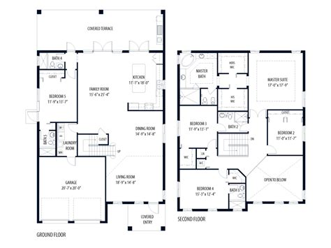 Cypress Floor Plan | cypress floor plan evergreens at ensley the cypress