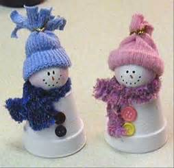 christmas craft ideas cup snowman dump a day