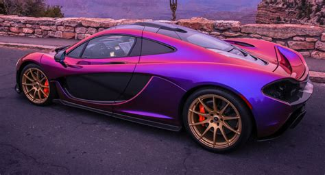 mclaren p1 custom paint this is the wildest mclaren p1 paint thus far