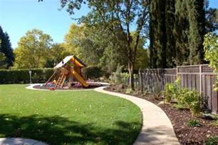 Backyard Playground Mulch Family Garden Design Go Outside And Play