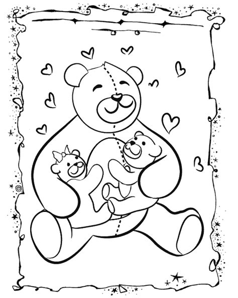bear hug coloring pages bear hugs free printable coloring pages