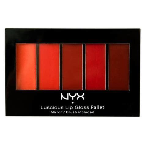 Lip Gloss Palette Nyx nyx lip gloss palette the smokey look colors 0