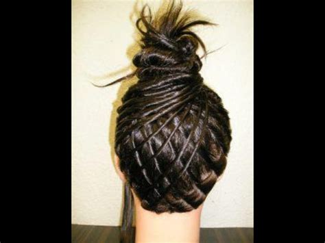 pineapple on hair pineapple hair design ur head pinterest