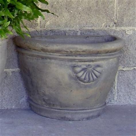 Half Planters cast half townhouse planter modern outdoor products by hayneedle