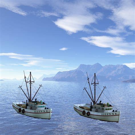 shrimp boat stuff shrimp boat for poser 3d models digimation modelbank