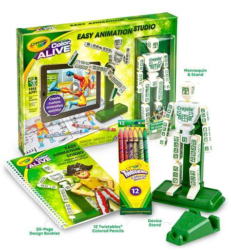 crayola color studio easy animation studio crayola