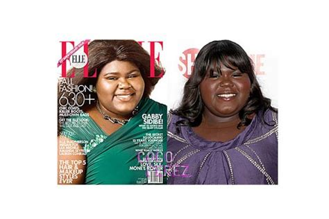 Hudsons Vogue Cover With Photoshop by When Are Almost Unrecognisable In Magazines