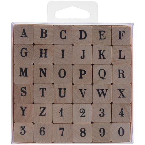 rubber letter st set wood mounted st set alphabet artemio