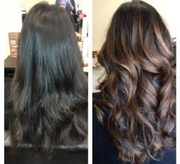 balayage hair color hair balayage vs ombre on hair