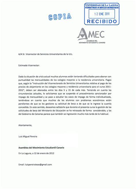 Carta Formal Solicitud De Apoyo definici 243 n de carta de solicitud 187 concepto en definici 243 n abc