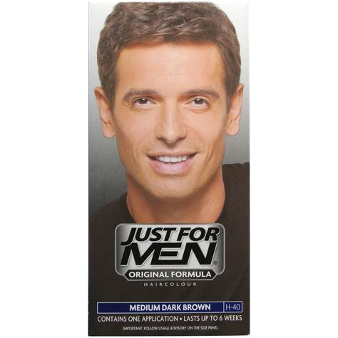 how to remove just for men hair color just for men h40 medium dark brown hair colour ebay