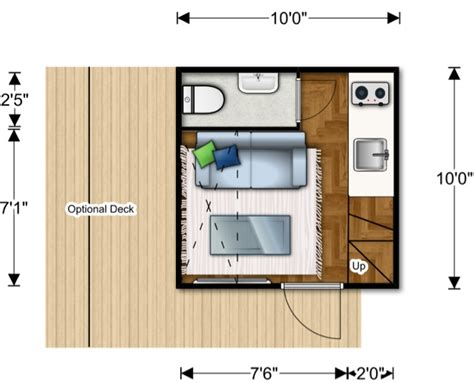 The World Changing Ten Foot Cube Lifeedited Plans For Micro Homes