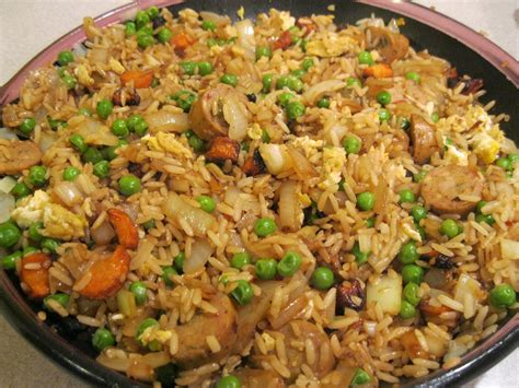 conclusion it s the it band recipe fried rice with chicken sausage oven lovin runnin