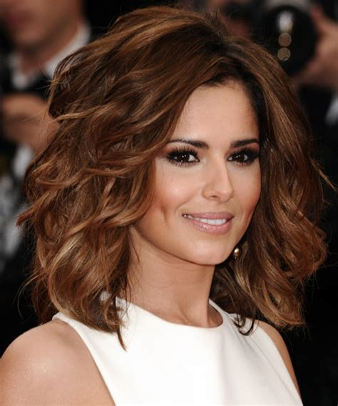 cheryl cole hairstyles 2015 glamorhairstyles wavy medium layered auburn hair to download wavy medium