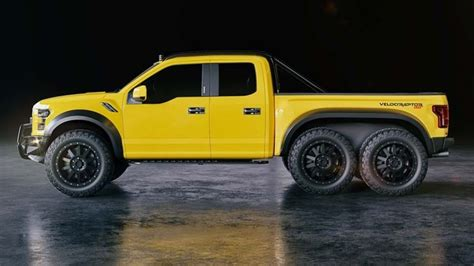 hennessey velociraptor hennesssey velociraptor 6x6 ford f 150 will you