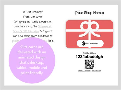 Shopify Gift Card App - shopkeeper easy gift cards ecommerce plugins for online stores shopify app store