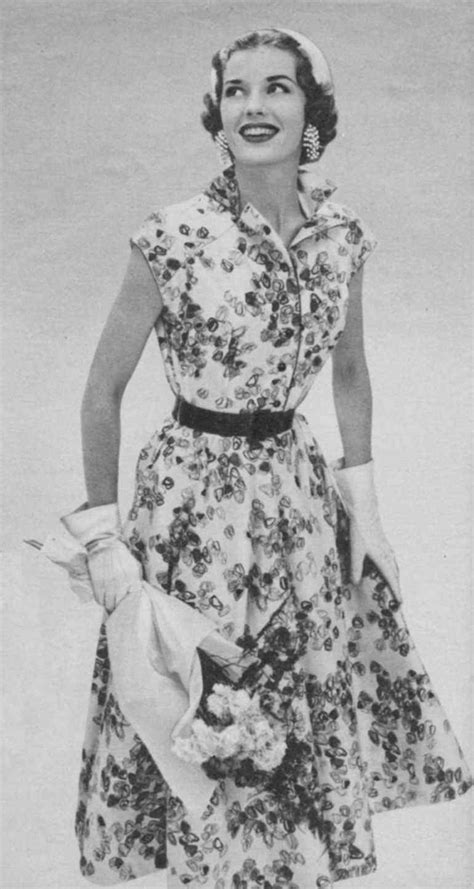 die 50er mode die mode der 50er jahre