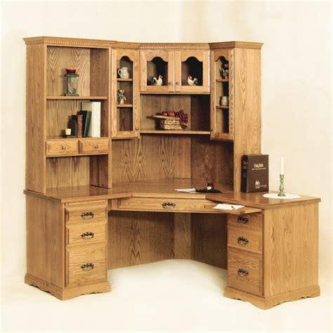 traditional corner desk traditional corner desk hutch amish traditional corner
