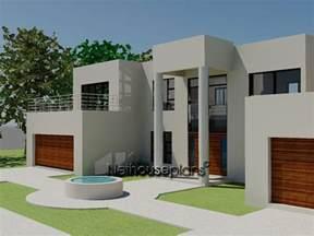 Modern Style Garage Plans 4 bed room modern style house plan