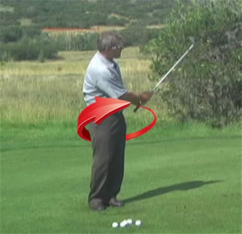 golf swing hip rotation how to chip better and stop scooping your chip shots in
