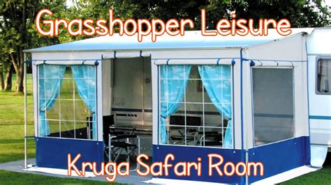 awning add a room kruga safari room universal motorhome awning youtube