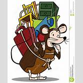 Pack Rat Royalty Free Stock Photography - Image: 14493977