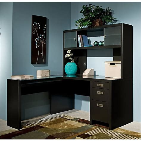 Contemporary L Shaped Computer Desk With Hutch L Shaped L Computer Desk With Hutch