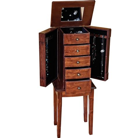 jewelry chest armoire jewelry box armoire in jewelry armoires
