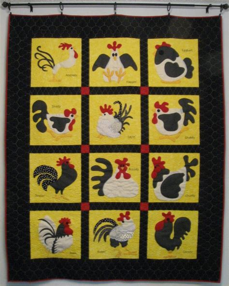 Chicken Quilt Patterns by Quilting Chicken Quilt Quilts