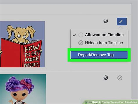 How To Find On Tagged How To Untag Yourself On With Pictures Wikihow