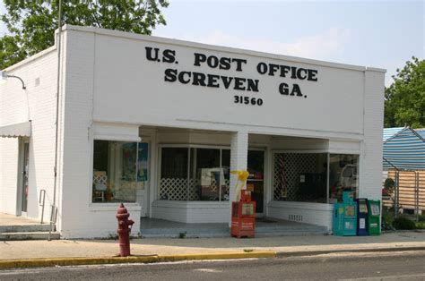 Ga Post Office by Screven Ga Post Office Photo Picture Image