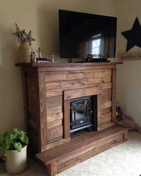 Made Fireplace by 50 Creative Diy Tv Stand Ideas For Your Room Interior