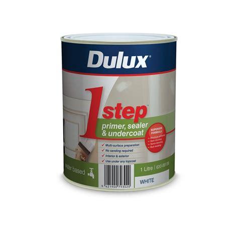 Sealer Dulux Dulux 1 Step 1l White Primer Sealer Undercoat Acrylic Based