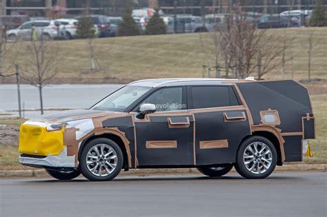 2020 Toyota Highlander by 2020 Toyota Highlander Spied Features Rav4 Inspired Front
