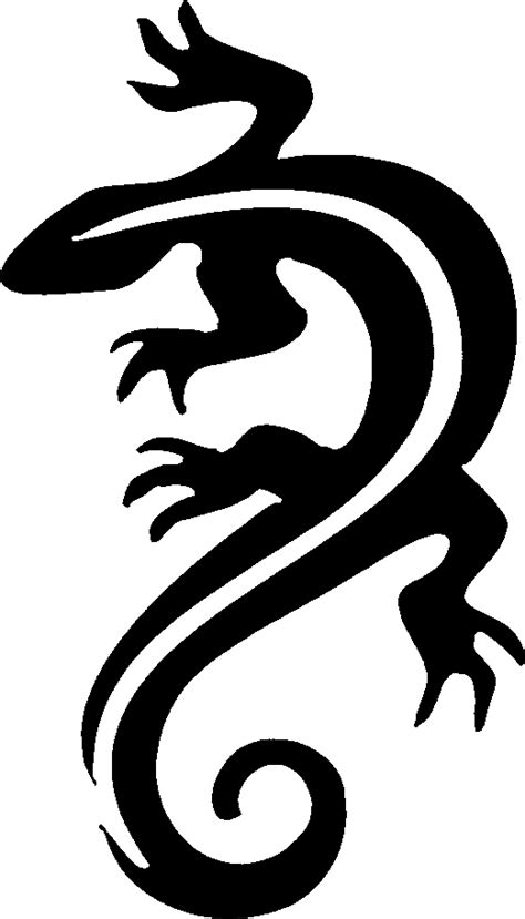 lizard stencil cliparts co