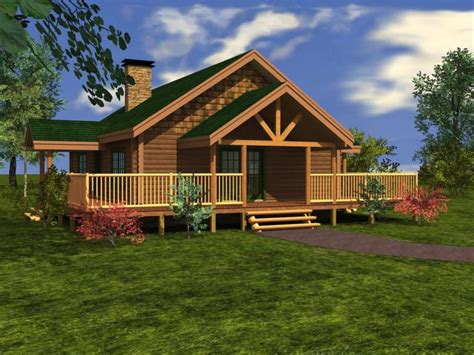 Wrap Around Deck Designs by Log Homes From 1 250 To 1 500 Sq Ft Custom Timber Log Homes