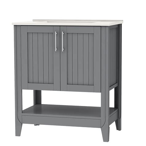 home depot vanity cabinets canada cabinet home magick woods newhaven 30 inch vanity cabinet in grey the