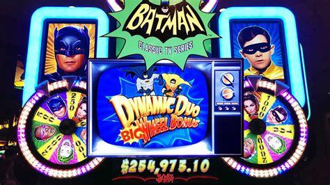 batman slot classic tv series dynamic duo big wheel bonus youtube