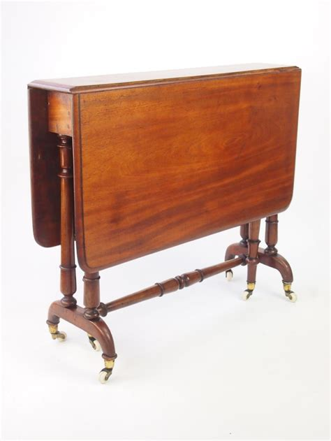 Drop Leaf Table Uk Antique Edwardian Mahogany Sutherland Table Drop Leaf Gate Leg Table 284264