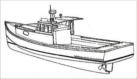 lobster boat designs plans lobster boat plans classic