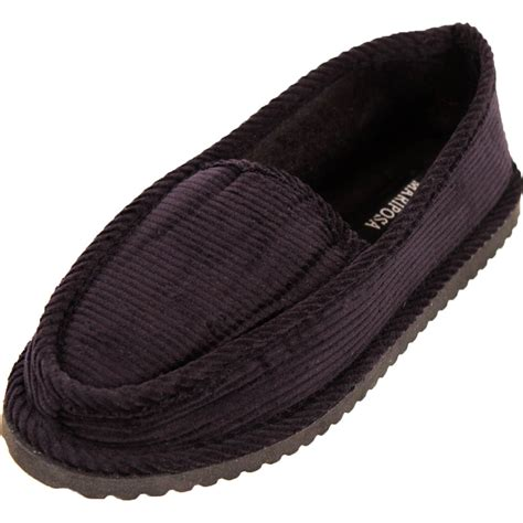house slippers womens corduroy slippers house shoes moccasin slip on
