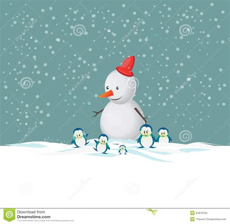 merry christmas snowman stock images image