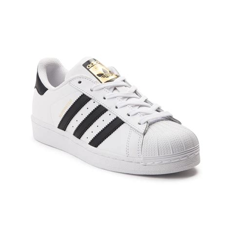 tween adidas superstar athletic shoe white 1436038