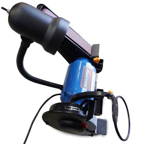 bench grinder with sanding belt 150mm 6inch bench grinder linisher sanding grinding wheel