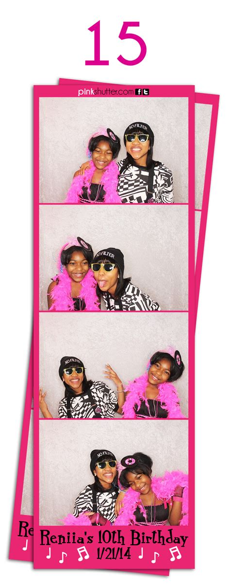 Osbournes Book Strippers For Birthday Bash 2 by Photo Prints And Photo Strips Options Pink Shutter Photo